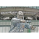 Wrigley Field Harry Caray Statue Post Card