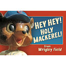 Chicago Cubs Wrigley Field Hey Hey Post Card