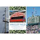 Wrigley Field Established Post Card