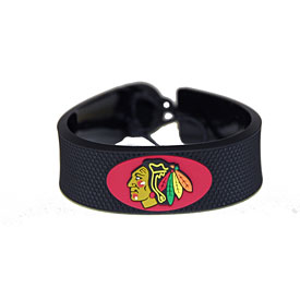 Chicago Blackhawks Hockey Bracelet