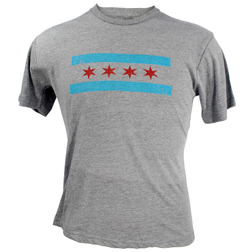 City Of Chicago Flag T Shirt