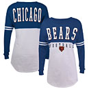 Chicago Bears Ladies Sweeper Long Sleeve T-Shirt