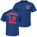 Chicago Cubs Kyle Schwarber Youth Name and Number T-Shirt