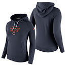 Chicago Bears Ladies Stadium Rally Funnel Pullover Hooded Sweatshirt