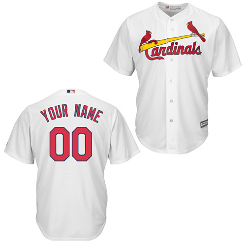 St. Louis Cardinals Customized Home Cool Base Replica Jersey aff115e39