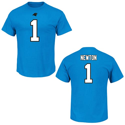 Carolina Panthers Cam Newton Eligible Receiver Name and Number T-Shirt ae3570340