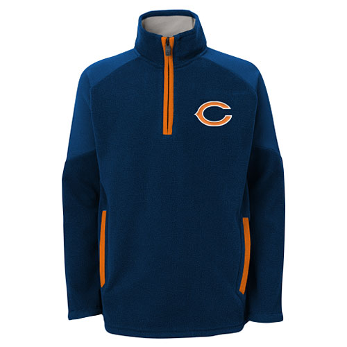 Chicago Bears Youth Evasive 1/4 Zip Jacket