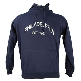 City of Philadelphia Navy Established Hooded Sweatshirt
