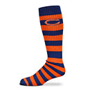 Chicago Bears Ladies Rugby Striped Socks