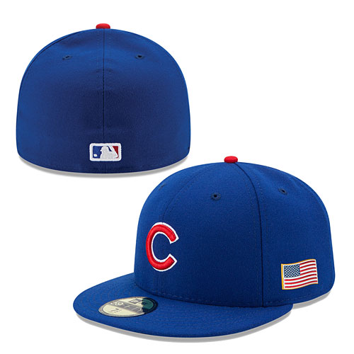 Chicago Cubs Authentic Game Performance 59FIFTY On-Field Cap w ... 01839a28d3d