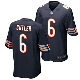 Chicago Bears Jay Cutler Youth Game Jersey