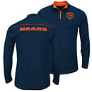 Chicago Bears Ready And Willing Quarter-zip Pullover Sweatshirt
