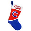 Chicago Cubs Color Block Christmas Stocking