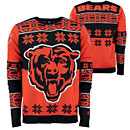 Chicago Bears Big Logo Crew Neck Ugly Sweater