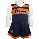 Chicago Bears Toddler Girls Cheer Jumper