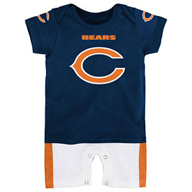 Chicago Bears Infant Jersey Romper