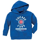 Chicago Cubs Toddler Pullover Hooded Sweatshirt
