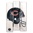 Chicago Bears Fence Wood Sign