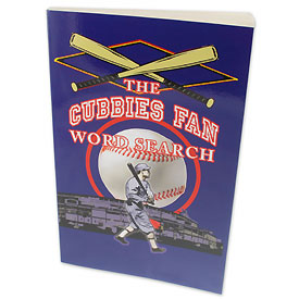 Chicago Cubs Word Search Book