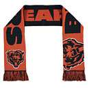 Chicago Bears Reversible Split Logo Acrylic Knit Scarf