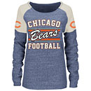 Chicago Bears Ladies Scramble Crew Sweatshirt
