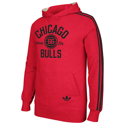 Chicago Bulls Red Springfield Hooded Sweatshirt 990b4093e