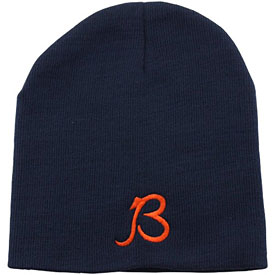 Chicago Bears B Logo Skull Knit Hat