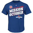 Chicago Cubs 2015 Postseason Youth Mission October T-Shirt
