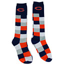 Chicago Bears Ladies Colorblock Knee High Socks
