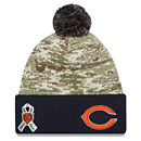 Chicago Bears Salute to Service Sport Knit Hat