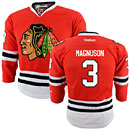 Chicago Blackhawks Keith Magnuson Youth Red Premier Jersey w/ Authentic Lettering