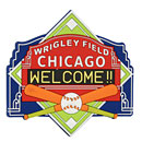 Wrigley Field Diamond Magnet