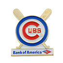 Chicago Cubs Bank of America Lapel Pin
