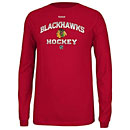 Chicago Blackhawks Youth Play Dry Elite Long Sleeve T-Shirt