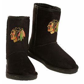 Chicago Blackhawks Ladies Cuce The Ultimate Fan Boots