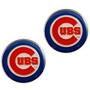 Chicago Cubs Post Earrings