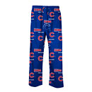 Chicago Cubs Fusion All Over Logo Sleep Pants