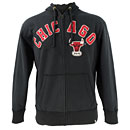 Chicago Bulls Striker Full-Zip Hooded Sweatshirt