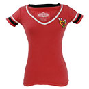 Chicago Blackhawks Ladies Votary V-Neck T-Shirt