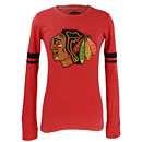 Chicago Blackhawks Ladies Hawaii Long Sleeve T-Shirt