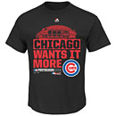 Chicago Cubs 2015 NL Division Series Winner Clubhouse T-Shirt