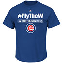 Chicago Cubs 2015 Postseason #Fly The W T-Shirt