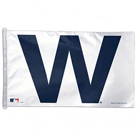 Chicago Cubs 27'' x 37'' W Flag
