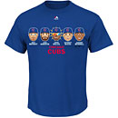 Chicago Cubs Youth Team Emoji T-Shirt