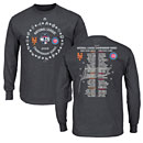 Chicago Cubs 2015 NLCS Matchup Roster Long Sleeve T-Shirt