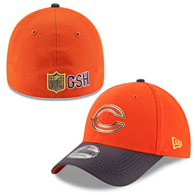 Chicago Bears Youth Gold Collection 39THIRTY Flex Fit Cap 204d9d548b10