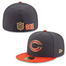 Chicago Bears Gold Collection On Field 59FIFTY Fitted Cap