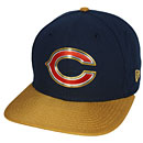 Chicago Bears Gold Collection Snapback Adjustable Cap