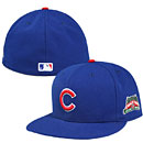Chicago Cubs Authentic 5950 Home Fitted Cap w/ Wrigley Field 100 Year Patch