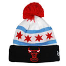 Chicago Bulls Chicago Flag Factor Knit Hat